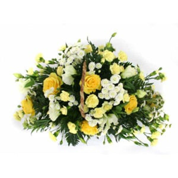 Picture of Basket of Flowers