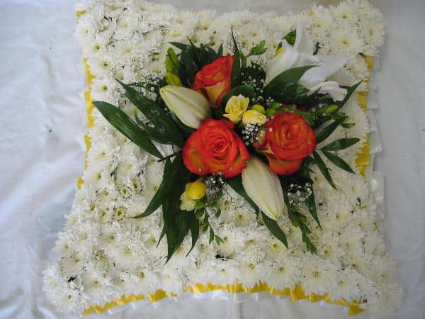 Picture of Floral Cushion tribute